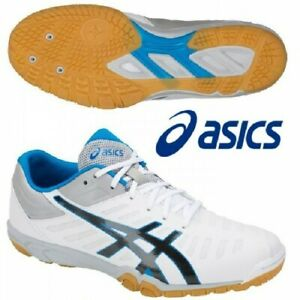 ASICS Table Tennis Shoes EXCOUNTER 2 Flash White Phantom 1073A002 With Tracking