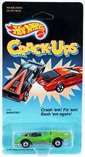 Hot Wheels Bangster Crack-Ups Series #2559 New NRFP 1986 Green 1:64