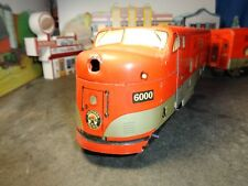 "MARX SOUTHERN PACIFIC NO 6000 F7A POWERED & F7B DUMMY  ""O"" / 27  GAUGE   5-55-5"
