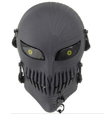 Halloween death masks, role playing, facial protection, hockey, military mask