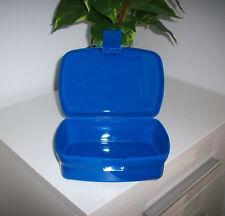 Dose Brotdose Jausenbox Jausendose Lunchbox blau Kunststoff NEU