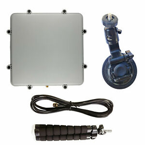 RTL-SDR Blog Active L-Band 1525-1660 Inmarsat to Iridium Patch Antenna Set