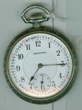 ILLINOIS  ( Burlington Watch Co. )  21 Jewel Pocket Watch