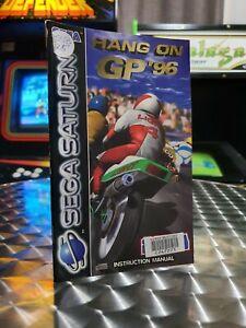 Hang On GP '96 - Sega Saturn Game Manual