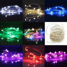 LED String Copper Wire Fairy Light 10M5M2M1M 12V USB Battery Operated Party Xmas
