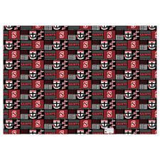 St Kilda Saints AFL GIFT WRAP Wrapping Paper Man Cave Bar present Christmas