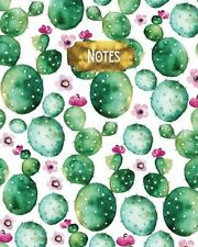 Notes: 8 x 10 inch Bullet Journal - Blank Notebook 1/4 inch Dot Grid... NEW BOOK