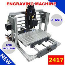 3 Axes Fraiseuse Graveur Machine USB Engraver Milling Bois Métal Gravure PCB CNC