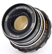 Industar-61 LD 55mm 50mm f/2.8 tessar lens M39 LTM FED Leica 35mm RF camera NEX