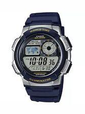 Casio AE1000W-2AV, Chronograph Watch, 5 Alarms, 10 Year Battery, 100 Meter WR