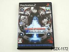 The King of Fighters 2002 Unlimited Match Tougeki Ver Playstation 2 JP Imprt PS2