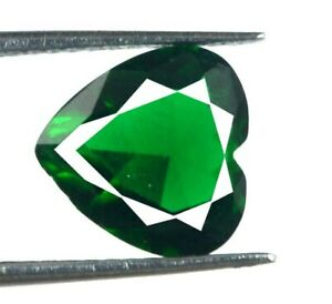 Colombian Emerald Gemstone Pair Heart Shape 5.75 Ct//9mm Natural AGSL Certified