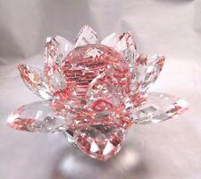 Home Decorative Crystal Lotus Flower on Turning Base  2345.00 TGW