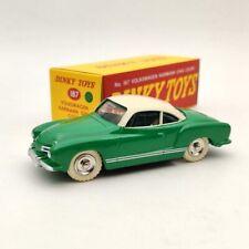 1:43 DeAgostini Dinky Toys 187 Volkswagen Karmann Ghia Coupe Diecast Models Car