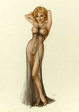 Vintage Erotica CALENDAR 2017 # 12 pages # Vargas Pinup Girl Sexy Nude Topless