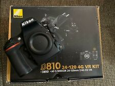 Nikon D810 DSLR Camera (Body Only - Excellent Condition - 2681 Shutter Count)