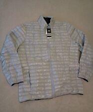 NWT ADDIDAS Mens FlyLoft Full-Zip Insulated Jacket, XL, gray