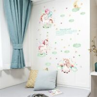 Moon Unicorn Wall Sticker Decal For Girls Room Bedroom Decor