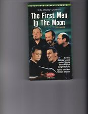 Alien Voices First Men in the Moon Sci-Fi - Nimoy/Spock - Kirk/Shatner -VHS -OOP