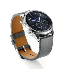 Samsung Gear S3 Frontier Watch Strap Replacement Genuine Leather Band Wrist Band