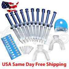 44% Teeth Tooth Whitening Whitener Bleaching Professional Kit White Gel Light US