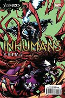 INHUMANS PRIME #1 RYAN STEGMAN VENOMIZED Variant Cover