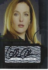 X-FILES I want to Believe - Gillian Anderson as Dana Scully A2 Autograph Card