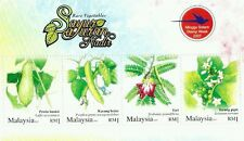 Rare Vegetables Malaysia 2007 Plant Fruit Flower Flora Food (ms) MNH
