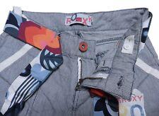 Jeans ROXY bleu blanc 12 ans pour FILLE pantalon pants blue girl quiksilver NEUF