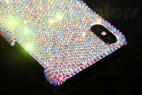 Bling Diamond Case Crystals Cover For iPhone X XR XS Max WITH SWAROVSKI ELEMENTS