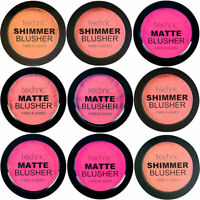 Technic Powder Blushers - Blush Blusher Pink Natural Shimmer Glitter Matte Cheek