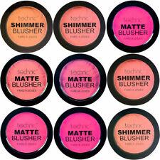 Technic Powder Blushers - Blush Blusher Pink Natural Shimmer Glitter Matte Cheek
