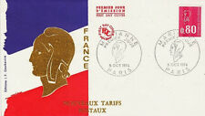 FRANCE FDC - 900 1816 1 MARIANNE de BEQUET 5 10 1974