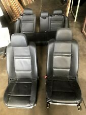 BMW E70 X5 series 2010 year Front and Rear Black Leather Seats, E70 interrior