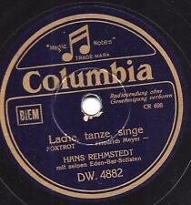 Orchestra Hans rehmstedt 1940: sto ridendo di ballare, cantare