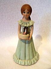 Enesco Growing Up Birthday Girl Figurine Eleven Bisque Porcelain
