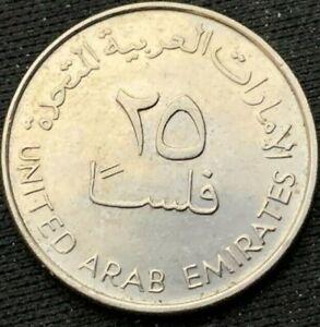 United Arab Emirates 2005    25 Fils UNC    Copper nickel Coin    #K290