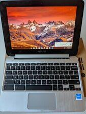 "Asus Chromebook Flip C101P 10.1"" Touch and flip screen 4GB 16GB ChromeOS USB-C"