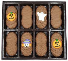 Philadelphia Candies Halloween Pumpkin Asst Milk Chocolate Nutter Butter Cookies