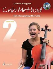 Cello Method Book 2 Method Book Cd Book String Book and Cd New Schott 049045394