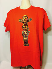 MONSTER TOTEM POLE T-Shirt (XL) Horror Block EXCLUSIVE March 2017