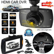 "2.7""LCD HD Car DVR Camera IR Night Vision Video Tachograph G-sensor Cam Recorder"