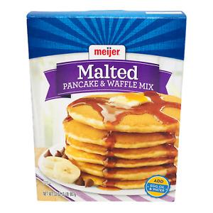 Meijer Malted Pancake & Waffle Mix 32 oz