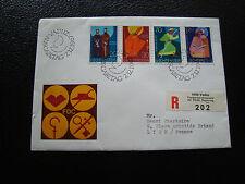 LIECHTENSTEIN - enveloppe 1er jour 7/12/1967 (cy17)