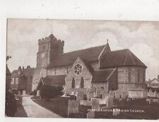 Seaford Parish Church 1916 Postcard 677a