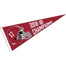 Alabama Crimson Tide 2018 SEC Football Champions Pennant Flag
