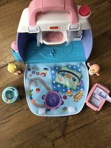 Little People Babies Cuddlen Play Nursery Playsets - Fisher Price Little People