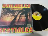 "LOS BESTIALES BAILABLES SPAIN EDITION 1980 VG/VG LP 12"" VINILO VINYL EDIGSA"