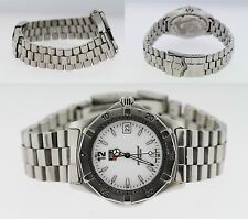 TAG Heuer Professional 200m WK1111-0 White Dial Men's 36mm Stainless Steel Watch