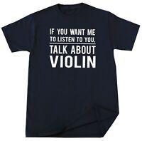 Violin T-shirt Violin Lover Gift Musician Music Instrument Player Funny Tees